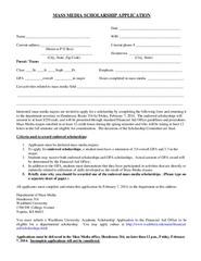 Local scholarship essay examples